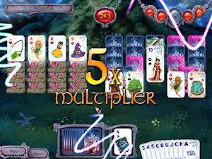Avalon Legends Solitaire screenshot and download
